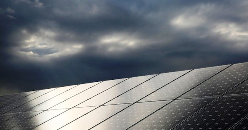 Do solar panels work on cloudy days?