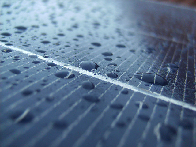 Do solar panels work on rainy days?