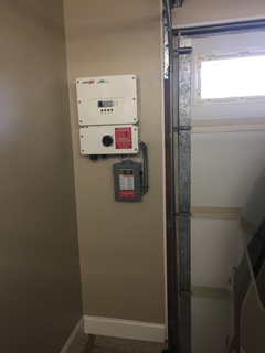 SolarEdge Garage Install