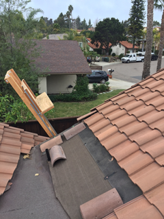 Tile Roof Removal