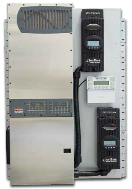Outback FLEXpower Radian FPR-8048A Prewired Power System - Solaris