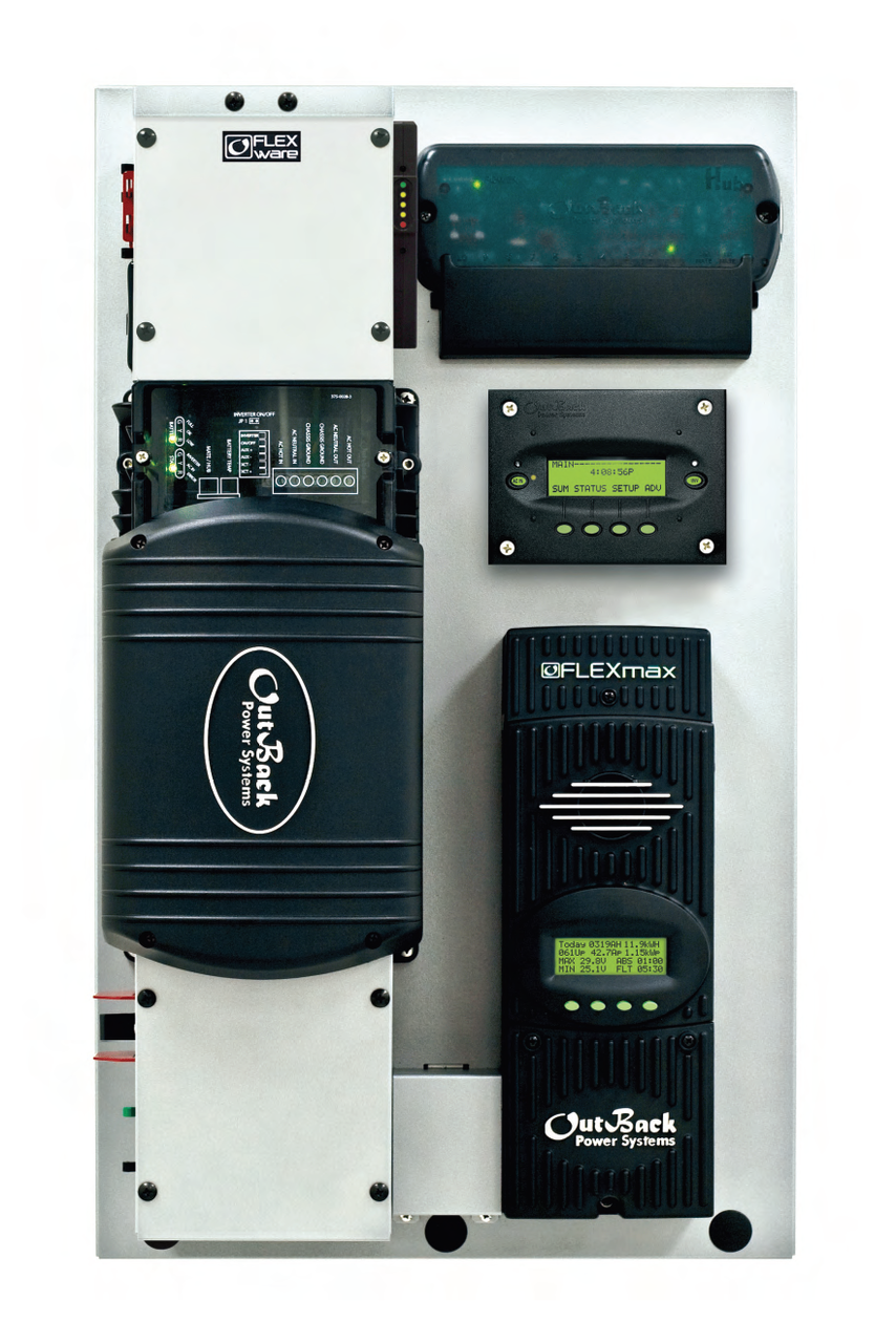 Outback FLEXpower FP1 VFXR3648A Pre-Wired AC/DC System