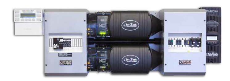 Outback FLEXpower FP2 VFXR3048E Pre-Wired AC/DC System
