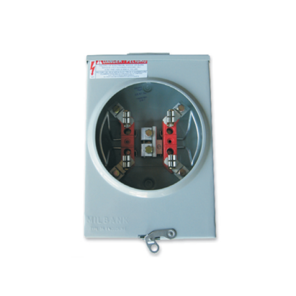 Milbank U4801-XL-5T9 Analog Meter Socket - SolarisSolaris