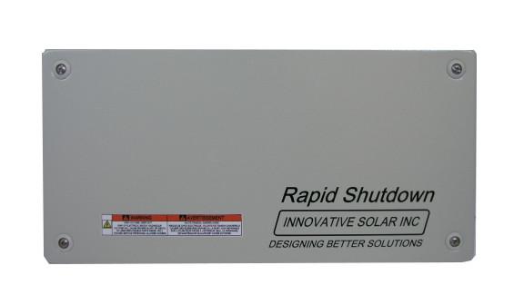 Innovative Solar RS10-D4-S2AC P Through w/ Rapid Shutdown on