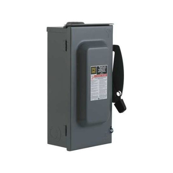 Schneider Electric 100A Surface Mount Circuit Breaker 1P 125VDC