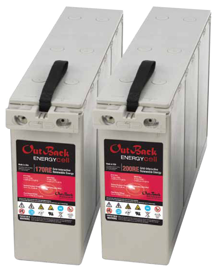 Outback EnergyCell 200RE Deep Cycle AGM 12V 178Ah Battery