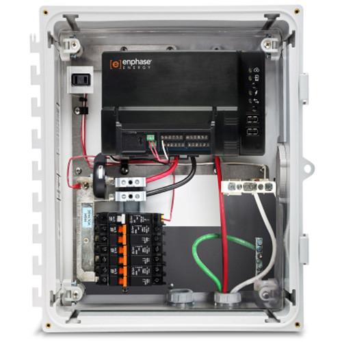 Pleasant Enphase Combiner Box Wiring Diagram Basic Electronics Wiring Diagram Wiring Digital Resources Attrlexorcompassionincorg