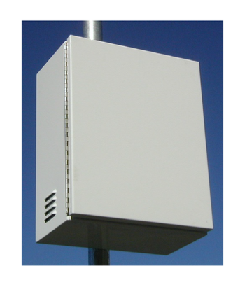 SR-BB2-GRP30-PL-IN  Top of Pole Mount Battery Enclosure