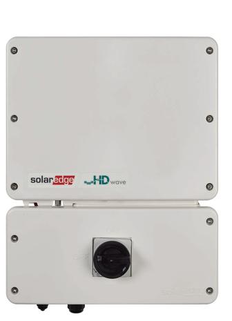 Solaredge Hd Wave Se5000h Us 5kw Inverter Solaris