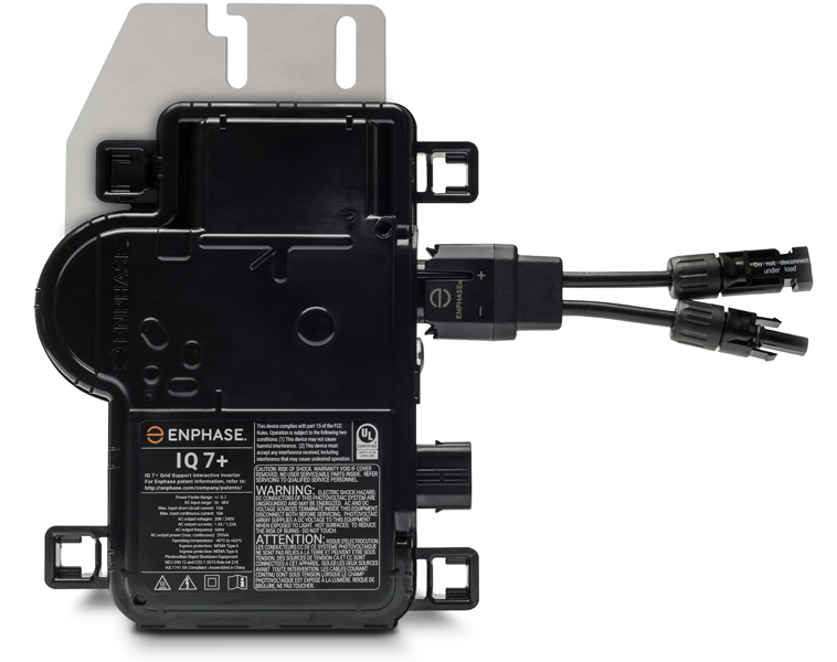 Enphase IQ7PLUS-72-2-US 235W-440W+ Microinverter - Solaris on micro inverter cable, inverter circuit diagram, micro bypass wiring diagram, micro monitor wiring diagram, micro relay wiring diagram, micro plc wiring diagram, grid to inverter diagram,