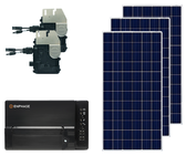 Poly Solar Kit with Micro Inverters
