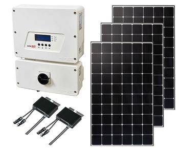 Mono Roof Mount Solar Kit with String Inverter