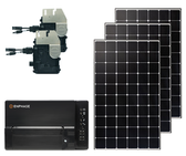 Mono Roof Mount Solar Kit with Microinverters