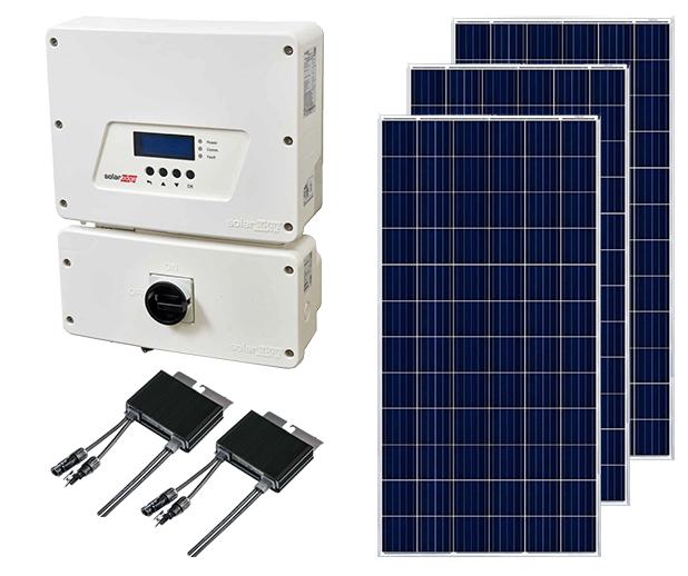 Poly String Inverter Ground Mount Solar Kit