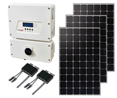 Mono Ground Mount Solar Kit with String Inverter