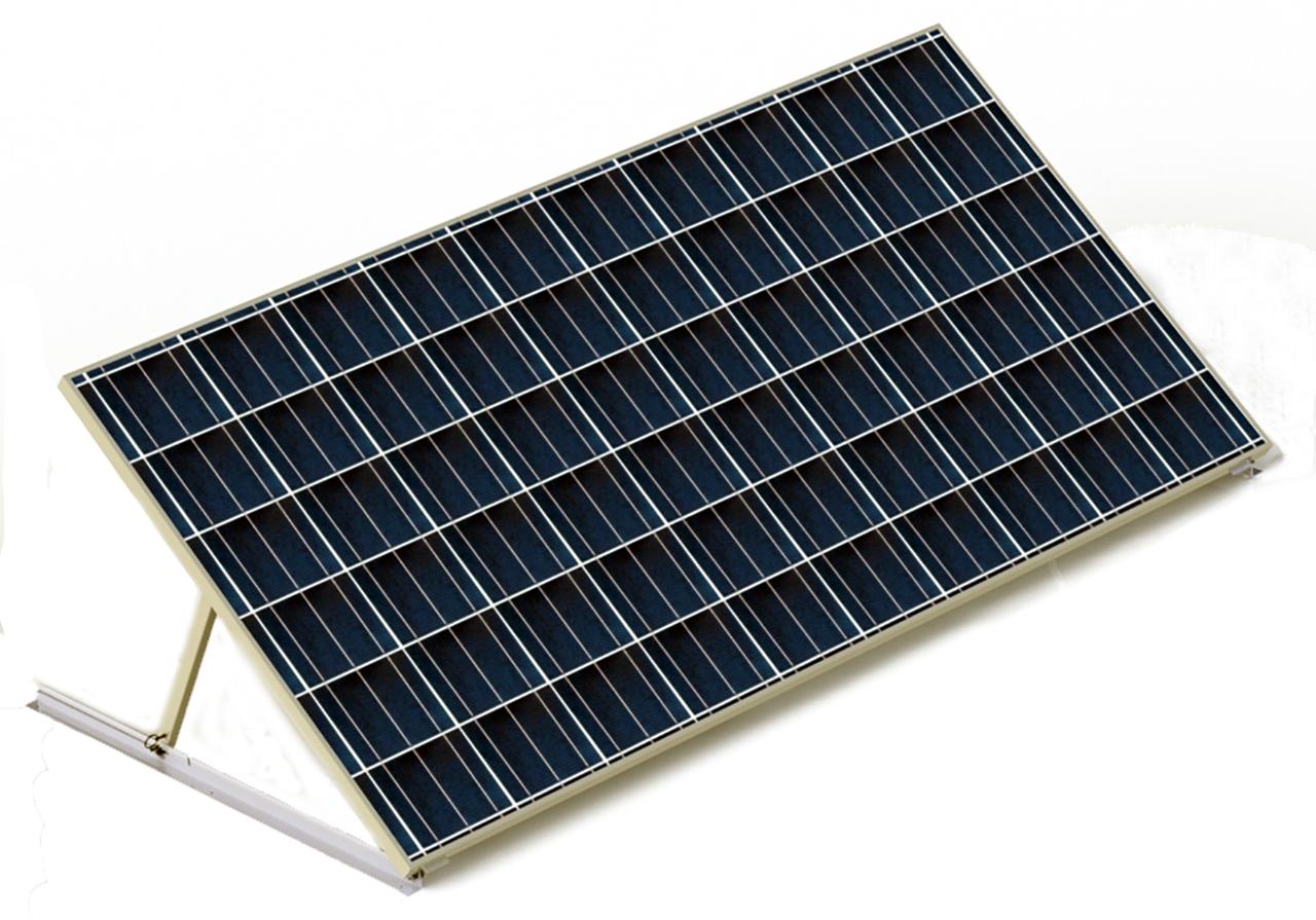 Tamarack Solar UNI-RV40 Tilt-Up RV Rack