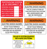PV AC String Inverter Label Kit
