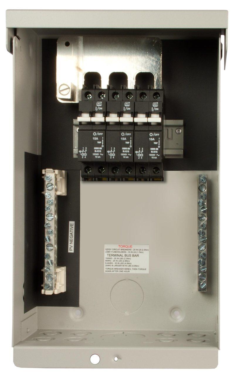 Combiner Box Breakers Not Included Midnite MNPV6