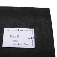 Boot or floor rubber mat (1.2mtr x 1.0mtr)Grain pattern