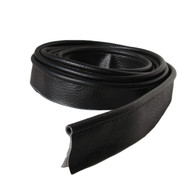 Mudguard Piping - Fabric Style BLACK Piping LARGE 2M