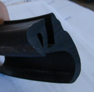 This material can be joined with our rubber super glue. Make a clean cut with anvil style shears