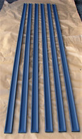 FX FJ and Chevrolet Utilitys  Floor Load Rails set of 6