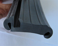 Ford Mainline Utility  Fixed rear side window Rubber