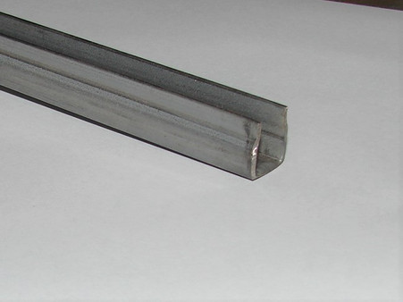 Plated metal channel. base 14mm wide outside x 16mm height. Weld on your own brackets.  GM style.