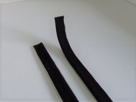 As original, comes in flat form. Curve the end to suit Sold in Pairs. one per door inner only.