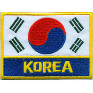 Flag + Korea Patch