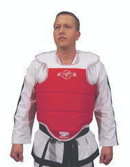 GTMA Chest Protector w/ shoulder pad; New style