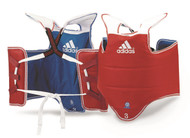 Adidas TKD Chest Guard; New Reversible