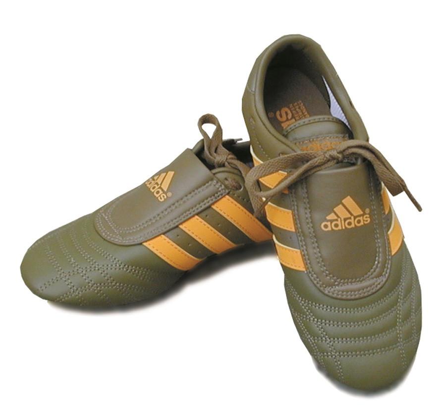 5818940207d Adidas Martial Arts Shoes  Khaki - Golden Tiger Martial Art