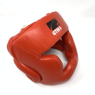 GTMA Leather Head Gear (Close Out Red Small Only Available)