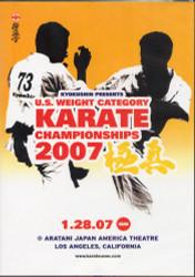 Kyokushin Championship DVD, 2007