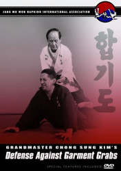 Hapkido DVD; Vol.6; Defense Against Garment Grabs