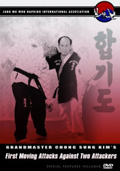 Hapkido DVD; Vol.8; First Moving Attacks Against 2