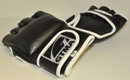 MMA Free Fight Glove; Leather