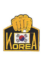 Korea/Fist Patch