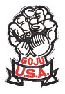 Goju USA Patch