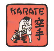 Karate Break Patch