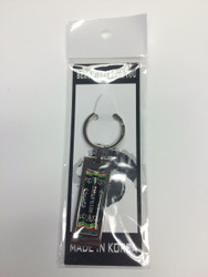 TKD Themed Key Chain - Large TKD Black