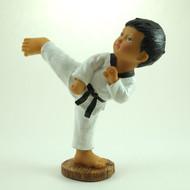 Martial Arts Figurines; Boy Side Kick