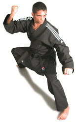 Adidas US STAR Karate GI; Black Color