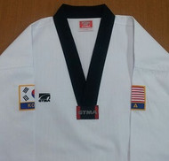 GTMA Premium Tae Kwon Do Uniform with USA/KOREA Patches