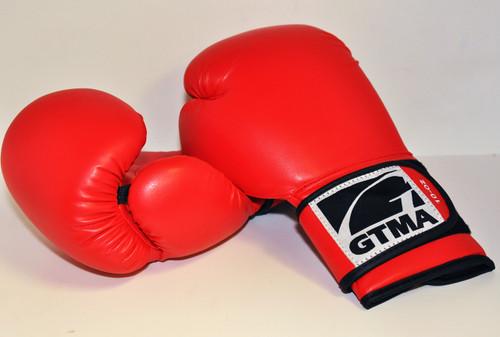 "Red Vinyl GTMA ""Comfort"" Boxing Glove"