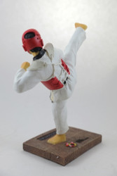 "Kukkiwon Side Kick Figurine (7"" tall)"