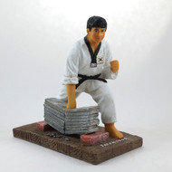 "TKD Figurine Breaking Board (6"" tall)"