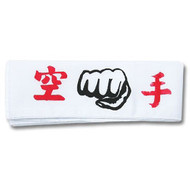 Karate Fist Headband